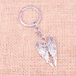 $enCountryForm.capitalKeyWord Canada - New Fashion 39*24mm angel wings KeyChain, New Fashion Handmade Metal Keychain Party Gift