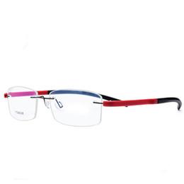 16c1735fc2 EOOUOOE Titanium TR90 Men Women Unisex Rimless Eyewear Frame Gafas Oculos de  sol Goggles Classic Eyeglasses Opticas Glasses