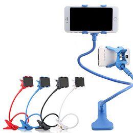 Red coloR mobiles online shopping - New Degree Roating Flexible Phone Holder Stand For Mobile Long Arm Holder Bracket Support For Bed Desktop Tablet