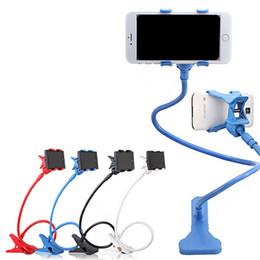 Novo 360 Graus Roating Flexível Suporte Do Telefone Suporte Para Suporte de Braço Longo Móvel Braço Suporte Para Cama Desktop Tablet