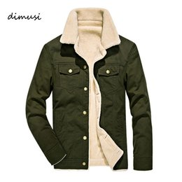 Ingrosso DIMUSI Winter Bomber Jacket Uomo Pilot MA1 Jacket Warm collo di pelliccia maschile Army tattico Mens and Coats 4XL
