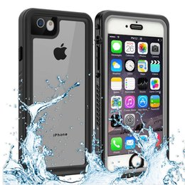 $enCountryForm.capitalKeyWord NZ - Original IP68 Waterproof Case For iPhone 6s Shock Dirt Snow Proof Protection With Touch ID For iPhone 6 Case Cover Skin