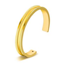 $enCountryForm.capitalKeyWord NZ - Hair Tie Bracelets Silver Color Gold Color Metal Alloy Cuff Bracelet Open Bangles Black Rope Fashion Hand Jewelry For Women Men