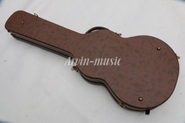 Brown guitar case online shopping - Electric Guitar brown Hard case Not sell separately Sale with guitar together