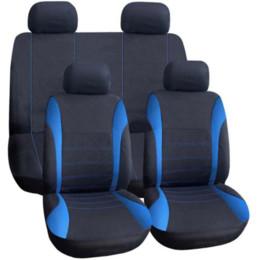 Auto Car Interior Decoration UK - AUTOYOUTH Universal Car Seat Covers 9PCS Full Set Automobile Seat Covers for Crossover Sedan Auto Interior Decoration Protectors