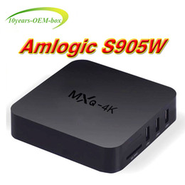 Best Android Tv Canada - 2018 Best Selling Android 7.1 MXQ Pro 4K S905W 4K android tv boxes better X96 mini