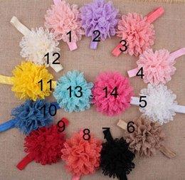 Accessori per capelli Per neonato Baby Pizzo Grande fiore Perla Principessa Neonati Ragazza Fascia per capelli Fascia per capelli Fascia per capelli per bambini