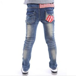 bcfd568c845c New Arrival Children Jeans Boys Skinny Jeans Kids Fashion Denim Jeans  Children Spring Autumn Long Pants size 4-15years