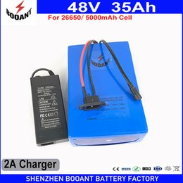 $enCountryForm.capitalKeyWord Canada - eBike Battery 48V 35Ah 2000W 18650 Lithium Battery Pack For 48V Electric Bike Drive Motor With 54.6V Charger 50A BMS Battery Kit