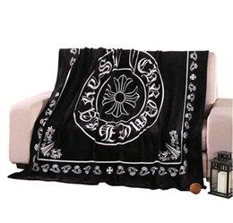 $enCountryForm.capitalKeyWord UK - Cashmere blanket Luxury original fashion brand Thicken Blanket Home Portable Sofa car soft Travel Scarf Shawl Warm Aircraft Blankets