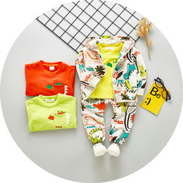 Winter Baby Suit Designs Australia - 3pcs Kids Cloth Sets Sweety New Baby Girls Outfits Casual Design 2018 Sets of Clothes Outdoor Suits Girl's Long Sleeve