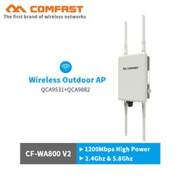 Comfast 1200 Mbps Dual Band 5 GHz High Power Outdoor AP 360 Grad omnidirektionaler Abdeckung Access Point Wifi Basisstation Router