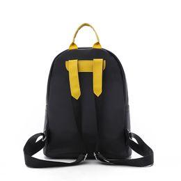 c0bea53f7ddc ute Appliques Emoji Backpack Smiley School Bags Waterproof Nylon Backpacks  for Teenage Girls Student Travel Women Mochila Black Cute Appl..