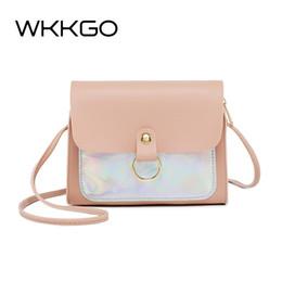 $enCountryForm.capitalKeyWord NZ - WKKGO Ladies Hand Bags Mini Flap Multi Color Patchwork Satchel Pack Women Shopping Coin Purse Shoulder Messenger Crossbody Bags