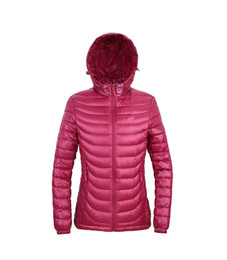 $enCountryForm.capitalKeyWord NZ - New winter special offer brand down jacket ladies fashion thin hooded Slim outdoor climbing jacket hat removable ultra light short jacket