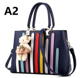 4a0b024eaa Rainbow Color Handbags Canada - 2018. Casual fashion woman bag. Ladies  handbag. PU