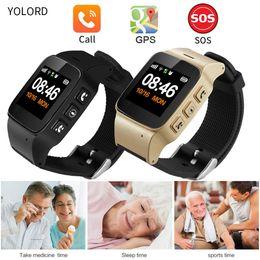 $enCountryForm.capitalKeyWord NZ - YOLORD Mini Elderly Adult Old People Kids Child Two Way Talk Sim Card Call GPS Positioning SOS Remote Monitor Smart Watch