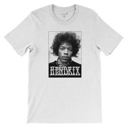 T-shirt Rock n 'Roll Jimi Hendrix par Studio315 en Solde