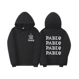 yellow black men tracksuit 2019 - Fear Of God 'S Life Kanye West Pablo Hoodie Men Hip Hop Tracksuit Sweatshirts Pull Paris I Feel Like Pablo Sportswe