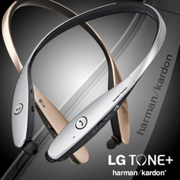 lg tones bluetooth headset UK - Stereo Wireless Headsets Tone Ultra Bluetooth Headphones HBS900 HBS-900 Earphone Handsfree In-ear Without LOGO With Hard Box PK HBS800 S530