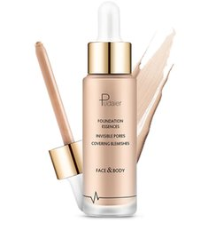 Chinese  Pudaier 6 color foundation waterproof liquid foundation essences invisible pores covering blemihes face body dhl free shipping manufacturers