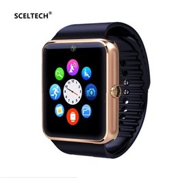 Wholesale SCELTECH X1 Smart Watch For IOS Android Phone Wrist Wear Support Sync smart clock Sim Card PK DZ09 GV18
