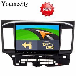 $enCountryForm.capitalKeyWord Canada - Octa Core Android 8.1 Car dvd gps player for MITSUBISHI LANCER 2008-2016 9 10 car radio video Stereo Audio navigation