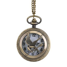 $enCountryForm.capitalKeyWord NZ - OTOKY Pocket Watch Men Animal Pattern Quartz Watch Vintage Chain Retro Pocket With Necklace Gifts Drop Shipping 80103