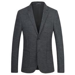Wool Dress Jackets Canada - The New Winter Men's Wool Suit Slim Business Casual Dress Suit Jacket Single West Man Coat Colbert Jasje Mannen Men's Jackets