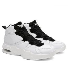34c7e3907d Venda quente adulto High top sapatilhas dos homens de couro sapatos de  marca dos homens Casuais Grossas Sapatos de Plataforma Altura Crescente 6 cm  Elevador ...