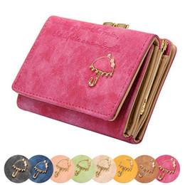 $enCountryForm.capitalKeyWord NZ - 2018new arrival Women Umbrella Leather Wallet Button Clutch Purse Girl Short Handbag Bag Cute Sweet small bag August 1