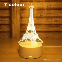Led Lamps Good Lumiparty Colorful Romantic Eiffel Tower Led Night Light Desk Wedding Valentines Day Bedroom Decorate Lamp Child Gift Zk30 Led Night Lights