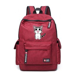 692d9cf93b9c3 Cartoon Chi'S Cat Backpack School Bags Chi'S Sweet Home Anime Cute Cat  Rucksack Schoolbag For Kids Gift Shoulder Bag