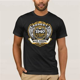 Made In 1940 77th Birthday 77 Years Old Gift T Shirt August Sunglasses Women Making Gifts On Sale