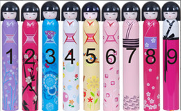 $enCountryForm.capitalKeyWord NZ - Kimono Japanese doll umbrella children Rain Gear Fruit baby girl bottled umbrella creative Sunny umbrellas C1029