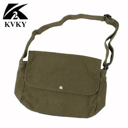 $enCountryForm.capitalKeyWord Canada - 2018 Korean Over Shoulder Bags Women Female Canvas Crossed Body Crossbody Handbags Bag Ladies Messenger Bags Army Green Black