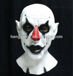 $enCountryForm.capitalKeyWord Australia - 2018 Hot Selling Realistic Eco-friendly Cold face clown Latex Mask For Halloween Cosplay Party