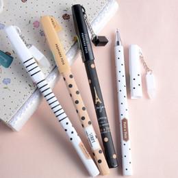 $enCountryForm.capitalKeyWord Australia - Korean Stationery New 0.5mm Cute Erasable Pens Magical Writing Neutral Pen Gel Black Ink Pen for School Office Supplies