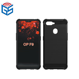 oppo transparent phone UK - For Oppo F9 Brushed Anti Knock Soft Gel TPU Back Mobile Phone Protective Cover Case 2018 Hot Selling Products