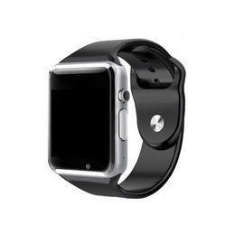 A1 смарт-часы Bluetooth Smartwatch для IOS iPhone Samsung Android телефон интеллектуальные часы смартфон спортивные часы