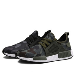 China Free freight south Korean camouflage net top men's shoes with teenagers air cushion men's shoes casual shoes cheap teenager shoes suppliers