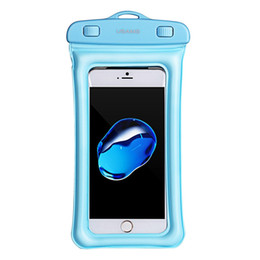 cell phone covers wholesalers UK - Floating Waterproof Phone Case Waterproof Pouch Cell Phone Dry Bag For iPhone X Waterproof Case Cover Underwater Pouch