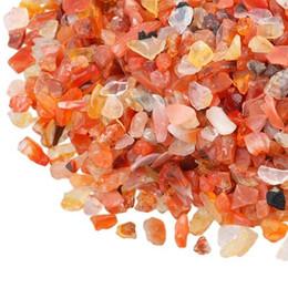 $enCountryForm.capitalKeyWord UK - 100g Carnelian Quartz Gravel Red sard crystal Decorate Aquarium Fish Tank Stone Tumbled Crushed Irregular Shaped Chips adorn Healing Rough