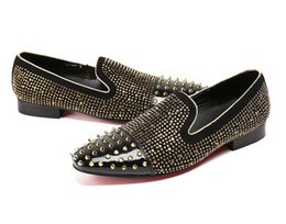 04ab2dbab2c Shop Black Loafers Silver Spikes UK | Black Loafers Silver Spikes ...
