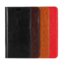 $enCountryForm.capitalKeyWord UK - Dngn luxury handmade Genuine leather case for xiaomi mi a2 multi-function wallet kickstand card slot flip cover for mi a2  6x