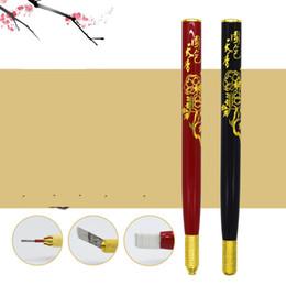 Microblade Pen Australia - microblading Professional Tebori Eyebrow Tattoo Permanent Makeup Machine Microblade Pen for Lip and Eyebrow Tattoo Equipment