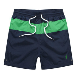 $enCountryForm.capitalKeyWord UK - 2019 Summer Mens Short Pants Brands Clothing Swimwear Nylon Men Brand Beach Shorts Small horse Swim Wear Board Shorts