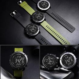 44eaf70b8b1c SYNOKE LED Digital Sport Watch Kids Outdoor Relojes electrónicos a prueba  de agua Multifunción 50M Doble Acción 9658 Reloj