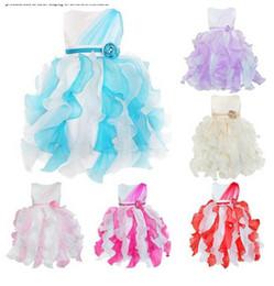pageant dresses new styles kids 2019 - New Arrival Flower Girls Dresses Kids Princess Fancy Ruffles Flower Party Pageant Dresses Ball Gowns Vestido B11 cheap p