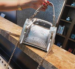 $enCountryForm.capitalKeyWord NZ - New Classic design Big + small 2pcs lot Travel shoulder banquet dance party bag Beach Bags Women Make-up work bag Handbags purse wallet A77